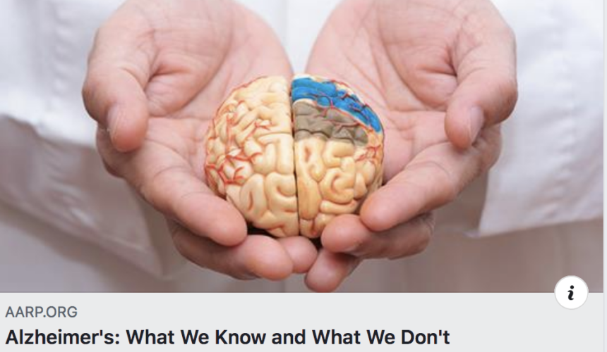 Alzheimer's: What We Know and What We Don't